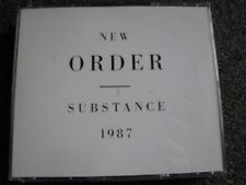 New Order-Substance 1987 CD Box-2 CDs-1990 Germany-Warner-3984 28227 2