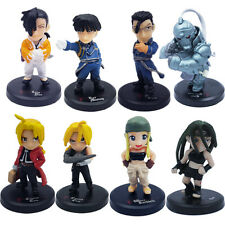 Fullmetal Alchemist Mini Figure Set Of 8pcs New In Box