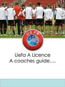 Football Soccer Coach Uefa A Licence Curriculum Guide Drills Book