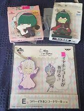 Re:zero Emilia And Petelgeuse Ichibqn Kuji Anime Lottery Prize Items