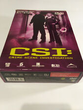 CSI: Crime Scene Investigation Temporada 2 Episodios 1-12  Dvd