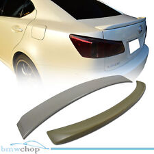 For Lexus IS350 IS250 OE Type Rear Roof + F StyleTrunk Boot Spoiler 06 07