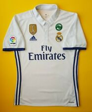 5+/5 Real Madrid jersey small 2016 2017 home shirt S94992 Adidas soccer ig93