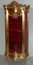 GLASS CASE BAROQUE STYLE GOLD GLASS CASE  # AS36.2