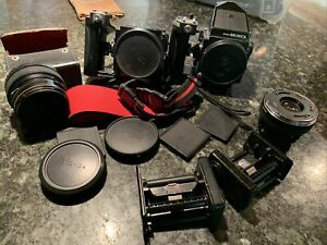 2 Bronica Zena Etr Cameras