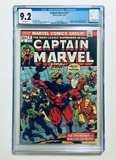 CAPTAIN MARVEL #31, 1974, JIM STARLIN Story & Art, THANOS & GUARDIANS, CGC 9.2
