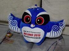 2015 BEIJING IAAF WORLD CHAMPIONSHIP OFFICIAL MASCOT BLUE PLUSH TOY 350mm