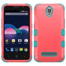 Fundas y carcasas MYBAT de plástico de color principal rosa para teléfonos móviles y PDAs