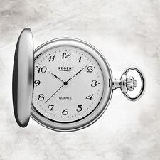 Reloj Regent mujer, hombre Mecanismo de cuarzo bolsillo plata cromado urp021