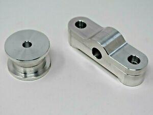 Billet Aluminum Shifter Bushings CNC Honda EK EG EF D-Series Single Cam D15 D16