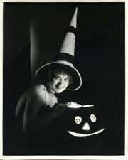 Clara Bow Breathtaking Halloween Witch Iconic Original Stamped 8x10 Photograph