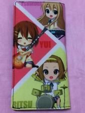 K-on! Bi-fold Wallet Japan Anime Yui Mio Ritsu Mugi Azusa FS with tracking No.
