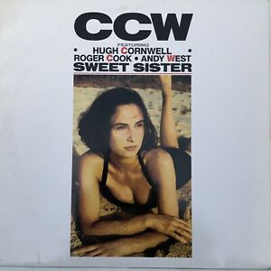 """Hugh Cornwell CCW Sweet Sister 4 Track 12"""" Roger Cook,Andy West (the Stranglers)"""