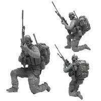 1/35 Resin Soldat Modell US Navy Seal Kommando Sniper 2018 Neu
