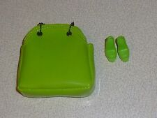 Fashion royalty Business Class green bag & shoes - 2011 Convention - new & mint.