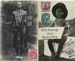 18 CPA AFRIQUE NOIRE SENEGAL DAR ES SALAM EGYPTE ZOULOUS NATAL CEYLAN    1906