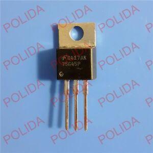 5PCS Transistor INTERSIL/HARRIS/FAIRCHILD TO-220 HUF75645P3 HUF75645P 75645P