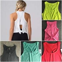 Quick Dry Exercise Women Yoga Tank Tops Ladies Workout Gym Clothes Sportswear