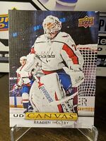 2019-20 Upper Deck UD Canvas Braden Holtby