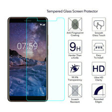 Anti-broken Tempered Glass Screen Protector For Nokia 7 Plus Clear Film AE