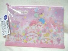 Sanrio Little Twin Stars  flat pouch purse NEW
