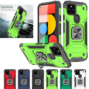 Magnetic Shockproof Armor Ring Phone Case for Xiaomi Redmi 9 8 Note 8 9 10 Pro