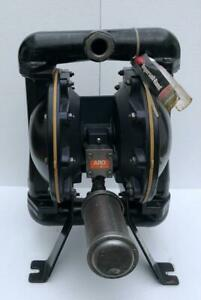 """INGERSOLL RAND ARO 666170-3EB-C Air Double Diaphragme Pompe 1-1/2 """" Aluminium #4"""