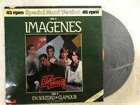 GLAMOUR LP VINILO IMAGENES  POLYDOR CANCIONES DEL MUNDO MAXI 45 RPM EN SOLEDAD