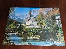 Waddingtons De Luxe 2000 piece jigsaw puzzle of Ramsau, Germany