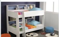 Bunk Bed KING single with Storage White NEW IN BOX LIMITED STOCK NEW IN BOX KIDS