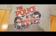 The Police Concert T shirt Vintage 2007-2008 Original grey size Men's Small