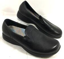 Women's Dansko Black Leather ELLIE Loafers Foam insoles Sz 42 US 11.5 - 12