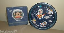 Paul Frank Julius Blue Space Monkey Birthday Party 12 Plates 24 Napkins Set LOT