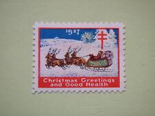 Usa 1927 Merry Christmas X-Mas Seal Mnh