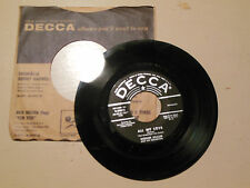 WERNER MULLER  all my love / simonetta DECCA COMPANY SLEEVE   45