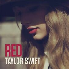 Red by Taylor Swift (CD, Deluxe Edition + 6 Bonus Songs, never opened)