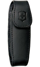 "VICTORINOX MEDIUM EXPANDABLE LEATHER CLIP ON POUCH for 3.5"" KNIVES, VN33255"
