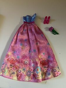 barbie clothing ball gown with shoes