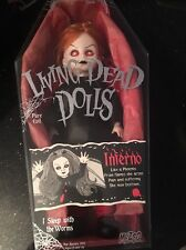 MEZCO Living Dead Dolls Series Inferno Doll 99932 Winged Phoenix Open Box