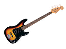 SX VEP62TS P&j Vintage Style 4 String Bass Guitar With Bag in Tobacco Sunburst