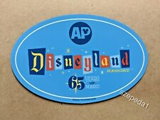 Annual Passholder Ap Magnet for Disneyland 65 Years of Magic 1955 - 2020