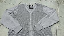 Mens Grey Exquisite Cardigan REF .0273 District 6 Size Large