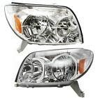 Headlight Set For 2003-2005 Toyota 4Runner Left and Right Halogen With Bulb 2Pc