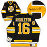 Rick Middleton Boston Bruins Autographed Black Fanatics Vintage Hockey Jersey