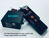 MSD 12v long range RF on off remote control relay switch 10 set bulk RS101-10