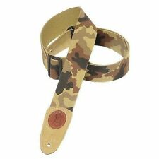 Levy's Leathers 2 Cotton Guitar Strap - Desert Camouflage