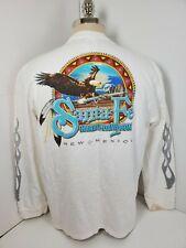 Harley Davidson Santa Fe New Mexico Mens Long Sleeve Shirt Motorcycle SZ XL