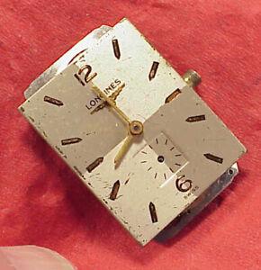 VINTAGE #8 Longines 9LT 25.17 ABC 17 jewels wristwatch movement