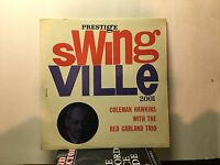 COLEMAN HAWKINS - with Red Garland Trio ~ SWINGVILLE 2001 {dg orig} - VERY RARE