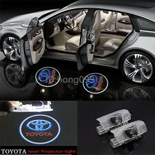 LED 3D Logo door step courtesy laser projector lights For Toyota 86 2011 -2016
